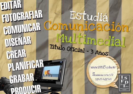 Tecnicatura Superior en Comunicación Multimedial